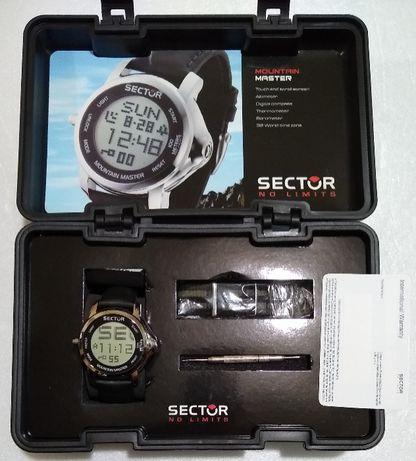 Часы•Sector Mountain Master •высотомер, барометр, компас, термометр