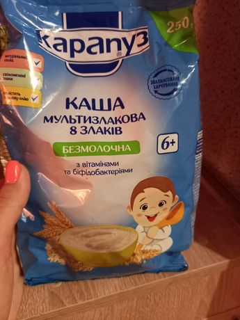 Каша детская Карапуз