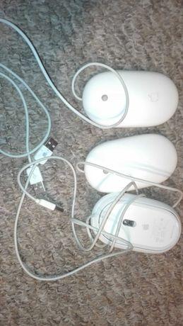 Myszki apple trzy sztuki