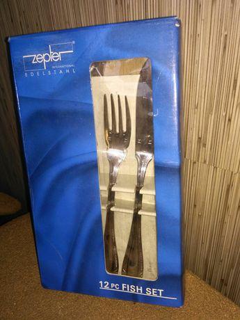 Продам новый набор столовых приборов для рыбы фирмы Zepter.