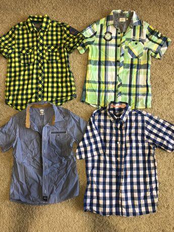 Рубашки H&M Next Tom teylor Rebel 10-11-12-13 лет