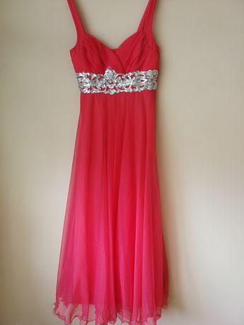 Sukienka koralowa M