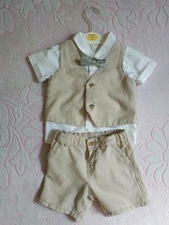 Дитячий костюм льон H&M