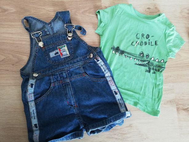 Jardineira petit patapon e t-shirt