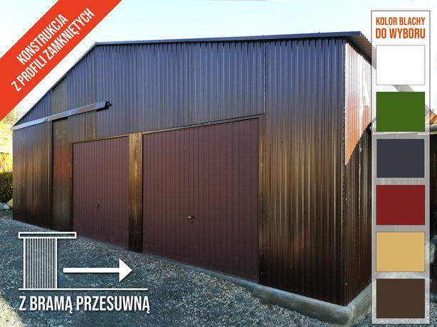 Garaż Blaszany - Hala Blaszana - Wiata 10,5x5m