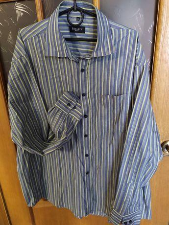 Рубашка мужская XXL с длинным рукавом