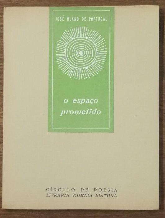o espaço prometido, josé blanc de portugal, circulo de poesia Estrela - imagem 1