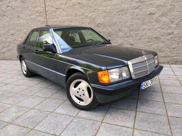 Mercedes 190 Klasyk 2.0 122KM benzyna Zobacz Wnętrze jak nowe Zamiana
