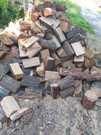 Drewno drzewo dab dębowe buk sosna opałowe kominkowe drewno rozpalkowe