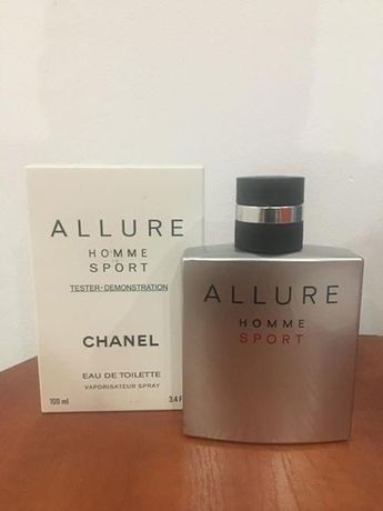 Chanel allure homme sport 100ml edt tester