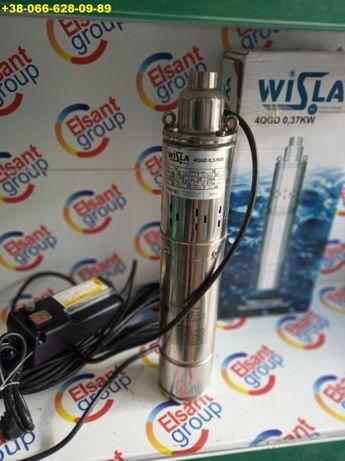 насос в скважину шнековый глубинный Польша Wisla 15 м кабеля