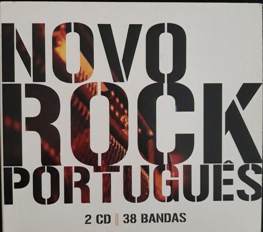 CD DUPLO - Novo Rock Português (Tiger Man, Linda Martini, X Wife)