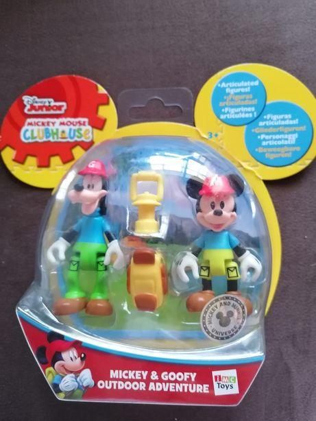 Brinquedos /Bonecos Mickey e Pateta Aventura Novos