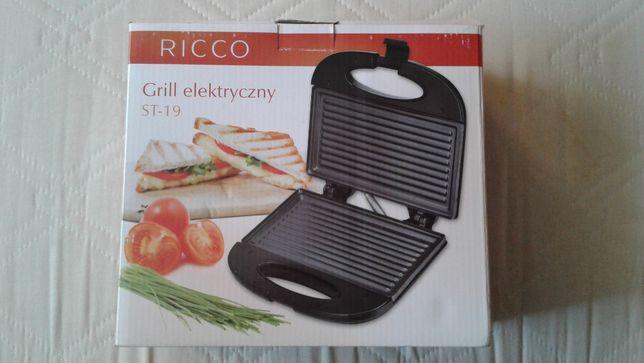 Grill Elektryczny RICCO model ST-19, 700-800W NOWY