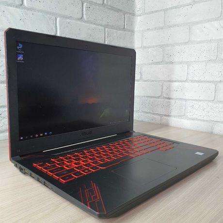 Игровой ноутбук ASUS TUF i5 8300H; SSD/HDD RAM 8GB; GTX 1050 Ti
