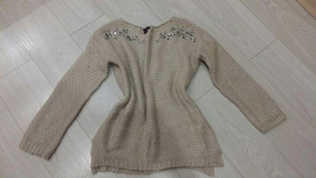 Sweterek rozm L -XL typu oversize