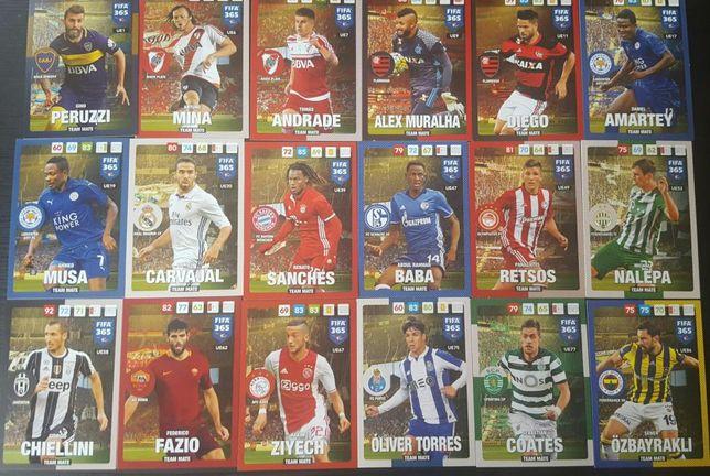 Karty FIFA 2017 i karty Champions League. Możliwa wysyłka.