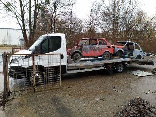 Pomoc Drogowa 24H / Transport Aut i Maszyn / Holowanie / Laweta