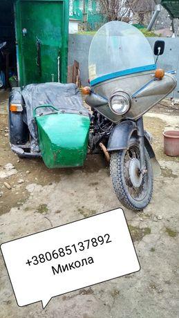 Мотоцикл  днепр МТ 9
