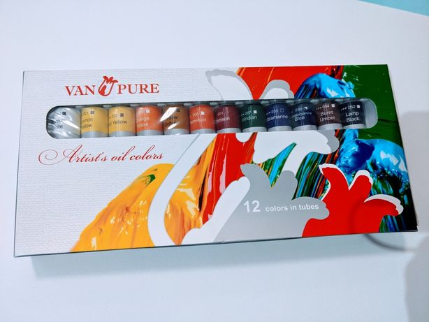 Набор масляных красок VAN PURE
