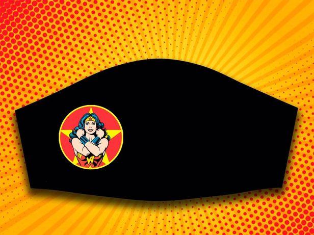 Mascaras personalizadas Wonder Woman