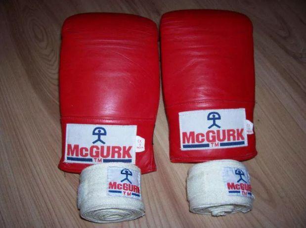 Rękawice bokserskie + owijki
