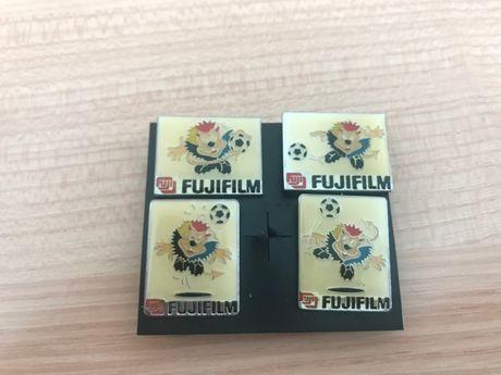 4 Pins Euro 2000 Mascote Fujifilm