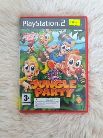 BUZZ! Jungle party PS2 Zabawacw dzungli Gra po polsku