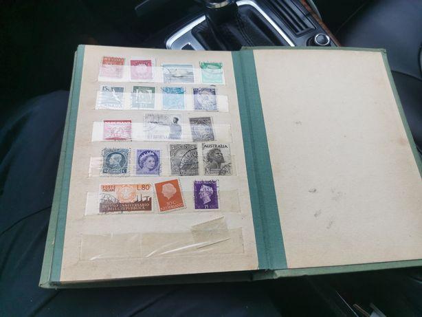 Znaczki Poczta kolekcja