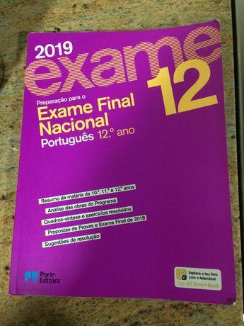 Livro de português (2019) 12ano preparação para exame