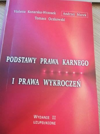 Podręcznik z podstaw prawa karnego i prawa wykroczeń