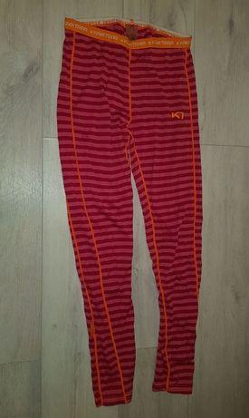 Spodnie termoaktywne z wełny merynosów Kari Traa M