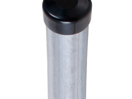 Słupki ogrodzeniowe ocynkowane h-200 z daszkiem