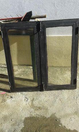 Portas para lareiras abertas com vidros térmicos
