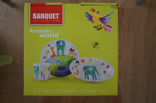zestaw obiadowy dla dzieci
