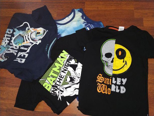 Sprzedam pakę koszulek(11szt) dla chłopca 152-164