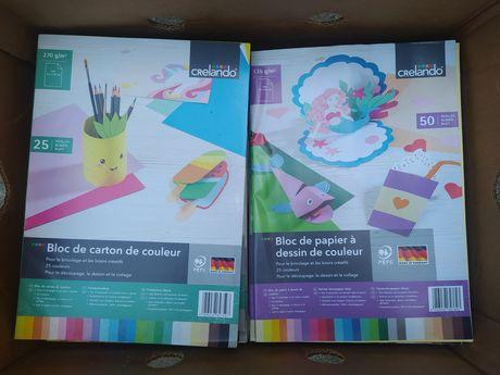 Разноцветный картон очень хорошего качества