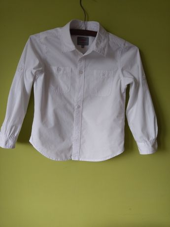Biała koszula wizytowa 128