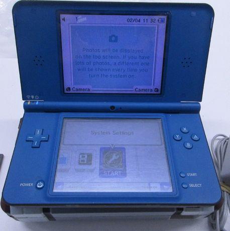 Nintendo Dsi XL Azul Desbloqueada