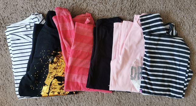 Bluzki dla dziewczynki rozmiar 158 (12 sztuk)