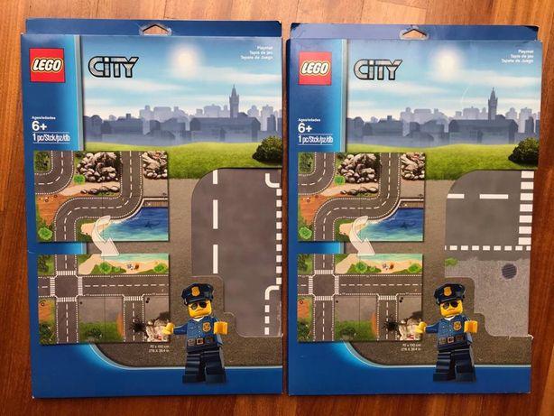 Lego City Playmata 850929, Lego Friends Playmata 851325 Heartlake NOWE
