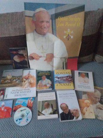 Papież - książki , płyty , plakat . Super pamiątka