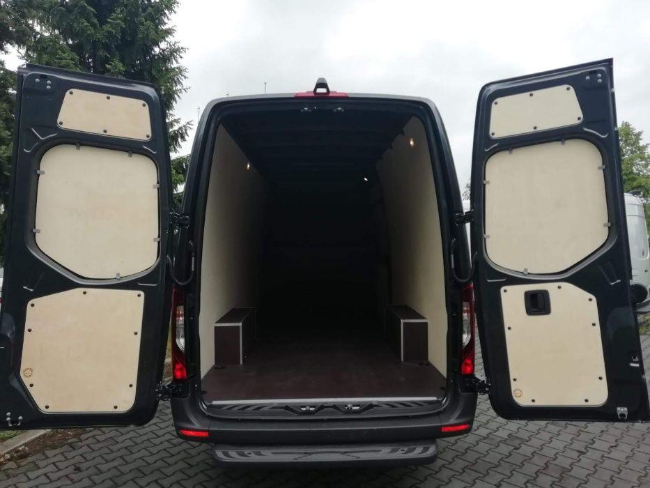 Mercedes Sprinter L3H2 zabudowa auta dostawczego podłoga i boków Głogów - image 1