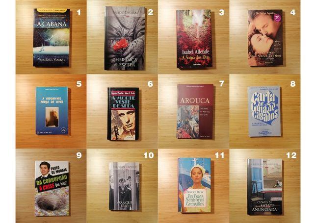Livros diversos (ótima oportunidade) desde 5€