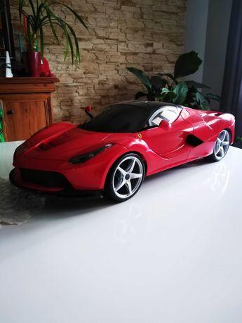 Samochód dla dziecka model ogromne Ferrari ponad pół metrowy