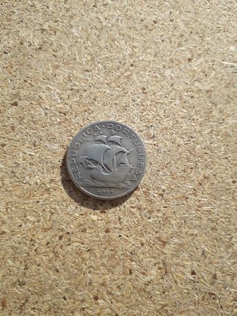 """Moeda 5$00 Escudos 1933 """"Prata"""""""