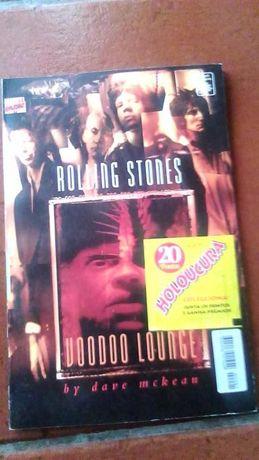 Rolling Stones, Voodoo Loungue, por Dave Mekean