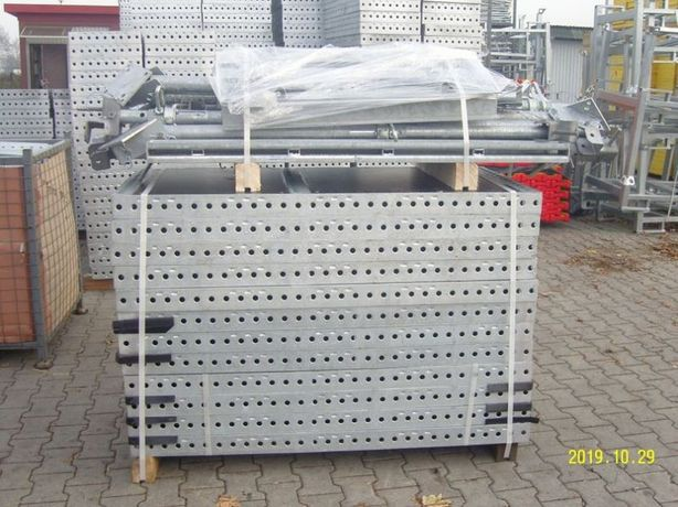 Szalunki ścienne lekkie 37m2. Reczny montaż. Tekko. (472,97zł/m2)