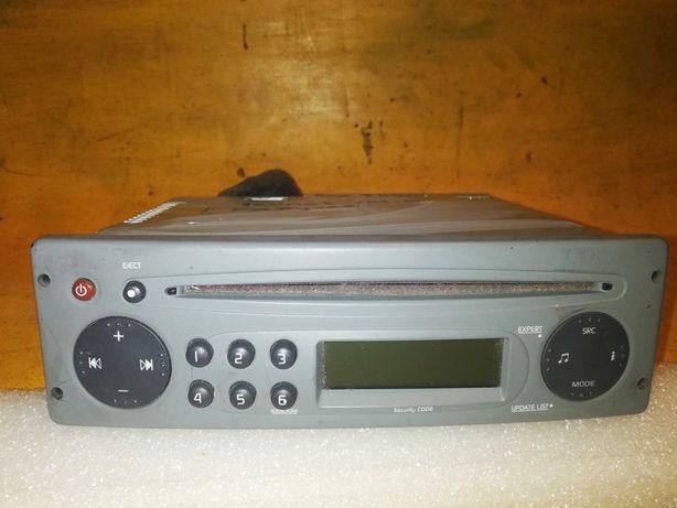 radio CD +kod Renault Twingo 2 Kangoo 2 r.07-14