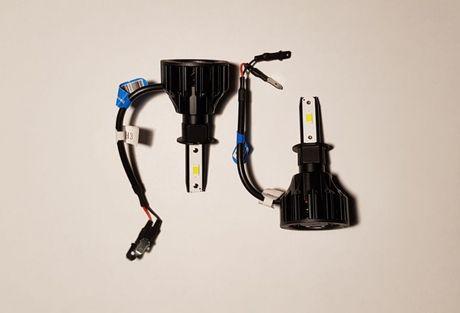 Żarówki LED H3 o mocy 72W (2x36W) Żarówka H3 temp 6500K jasność 8000lm